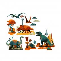Наклейки на окна Динозавры