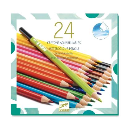 Набор акварельных карандашей, 24 шт.