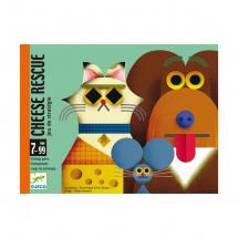 Детская настольная карточная игра Найди сыр