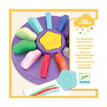 Набор карандашей для малышей в форме цветка, 12 шт
