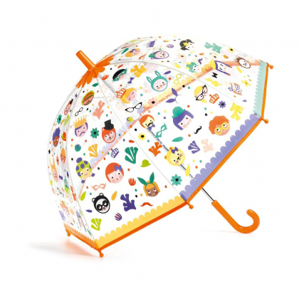 Зонтик Личики, меняет цвет