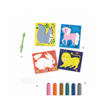 Набор для творчества Зоопарк