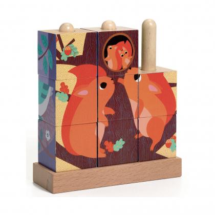 Кубики-пазл В лесу