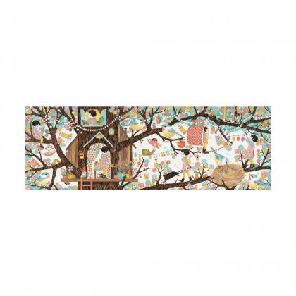 Пазл Дом на дереве