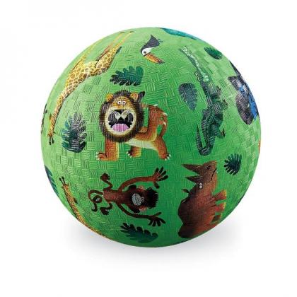 Мяч Crocodile Creek Дикие животные, 13 см