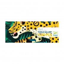 Пазл Леопард, 1000 деталей