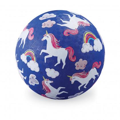 Мяч Crocodile Creek Единороги, 18 см