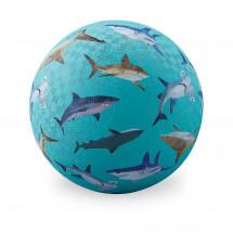 Мяч Crocodile Creek Акулы, 17см