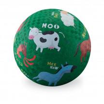 Мяч Crocodile Creek Ферма, 13см