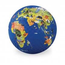 Мяч Crocodile Creek Карта мира, 13см